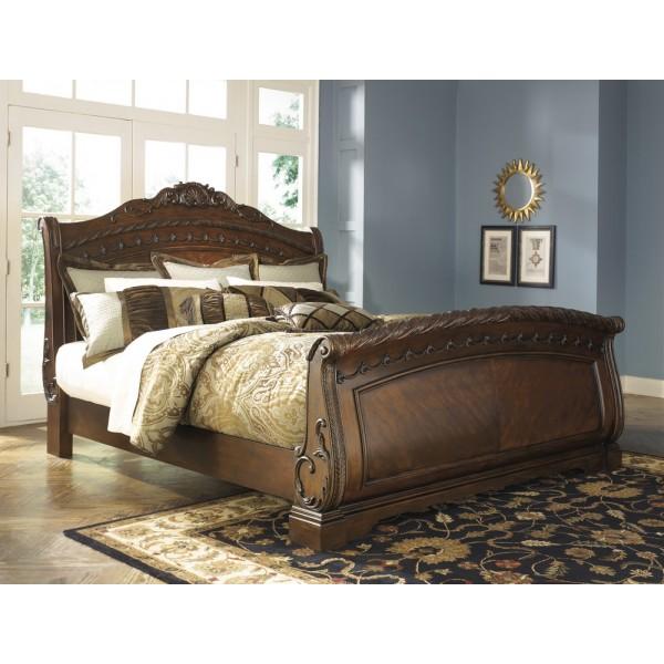 Кровать ASHLEY B553-74/75/77  Queen