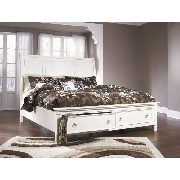 Кровать ASHLEY B672-74/77/98  Queen