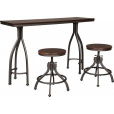 Стол барный со стульями ASHLEY D284-113