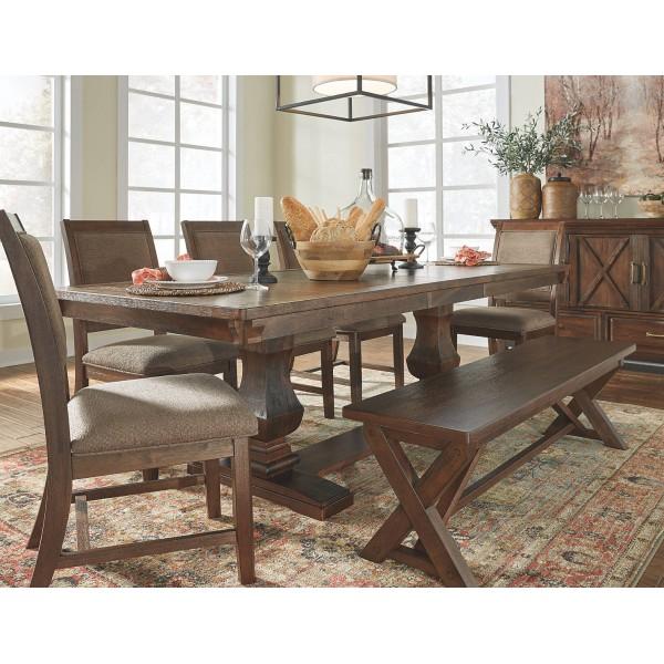 Стол обеденный раскладной ASHLEY D662-55BT
