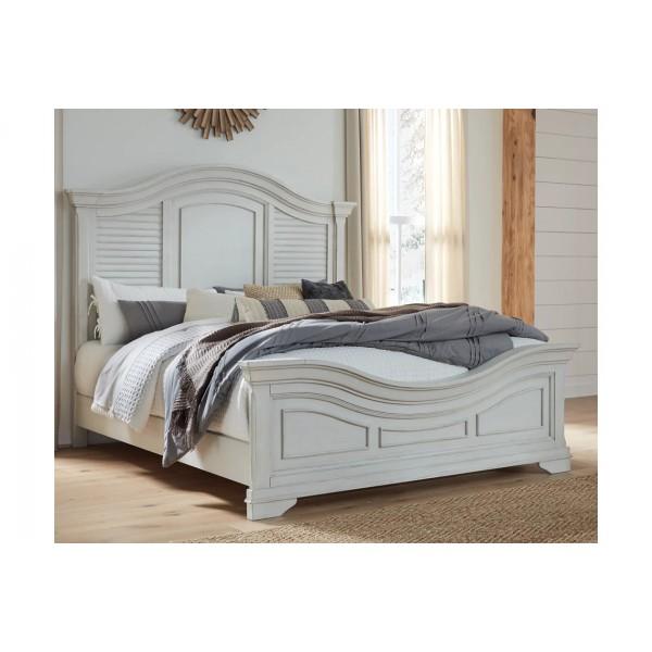 Кровать ASHLEY B755-56W1-58W1-96W1 King + матрас M69741W2