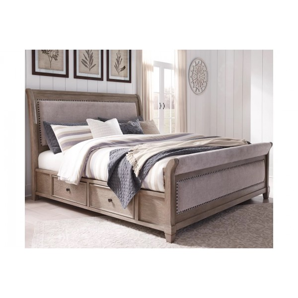 Кровать ASHLEY B804-50-56-58-97S King